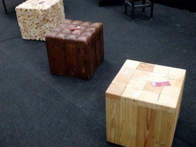 cubes poufs Image