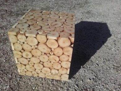 cube rondins Image