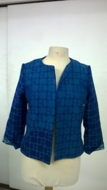 veste bleue Image