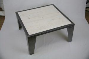 Table basse piétement métallique Image