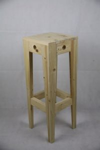 Tabouret assise haute Image