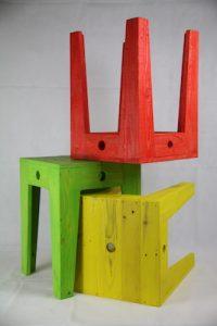 Tabouret coloré Image
